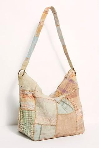 <p><span>Free People Vienna Upcycled Patchwork Tote</span> ($78)</p>