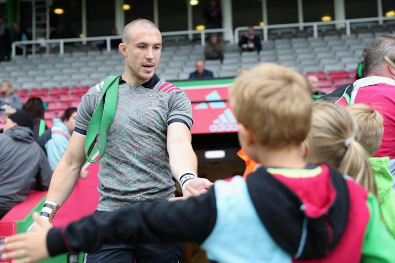 Sidelined | Mike Brown: Christopher Lee/Getty Images for Harlequins