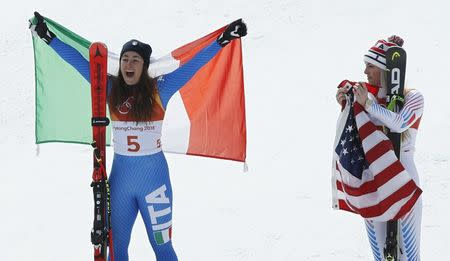 Lindsey Vonn and Mikaela Shiffrin Go for Gold in Women's Alpine Combined