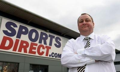 Sports Direct shares plunge on currency own goal