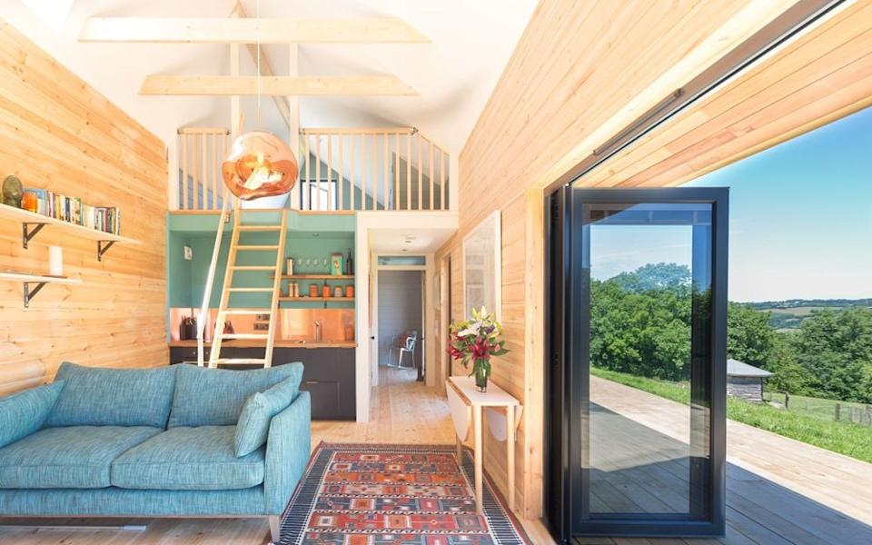 Head to this delightful bolthole in Devon