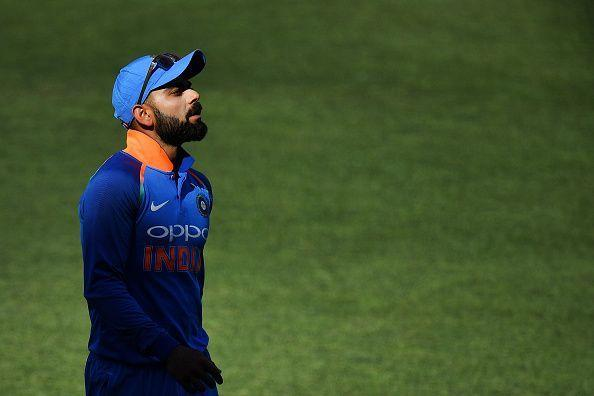 The Indian Captain on his duty