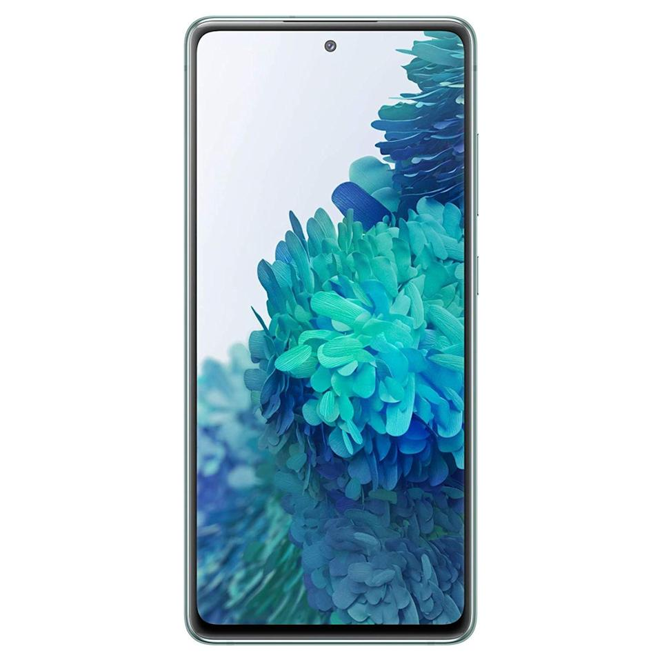 "<p><strong>Samsung</strong></p><p>amazon.com</p><p><strong>$599.99</strong></p><p><a href=""https://www.amazon.com/dp/B08FYVMRM5?tag=syn-yahoo-20&ascsubtag=%5Bartid%7C2089.g.293%5Bsrc%7Cyahoo-us"" rel=""nofollow noopener"" target=""_blank"" data-ylk=""slk:Shop Now"" class=""link rapid-noclick-resp"">Shop Now</a></p><p>The Samsung Galaxy S20 FE 5G is a feature-packed, futureproof smartphone from Samsung that's a great tech gift for any fan of the brand. In addition to an awesome Super AMOLED display, it packs a powerful chipset and a feature-packed camera setup, among many other features. There are multiple colors to choose from. </p><p>In case you are looking for an even more luxurious Samsung smartphone, consider the <a href=""https://www.amazon.com/dp/B082XXKZRC?tag=syn-yahoo-20&ascsubtag=%5Bartid%7C2089.g.293%5Bsrc%7Cyahoo-us"" rel=""nofollow noopener"" target=""_blank"" data-ylk=""slk:Galaxy S20"" class=""link rapid-noclick-resp"">Galaxy S20</a> or the <a href=""https://www.amazon.com/dp/B082XXR64G?tag=syn-yahoo-20&ascsubtag=%5Bartid%7C2089.g.293%5Bsrc%7Cyahoo-us"" rel=""nofollow noopener"" target=""_blank"" data-ylk=""slk:Galaxy S20+"" class=""link rapid-noclick-resp"">Galaxy S20+</a> instead. The <a href=""https://www.bestproducts.com/tech/gadgets/a31106275/samsung-galaxy-s20-ultra-review/"" rel=""nofollow noopener"" target=""_blank"" data-ylk=""slk:Galaxy S20 Ultra"" class=""link rapid-noclick-resp"">Galaxy S20 Ultra</a>, on the other hand, is Samsung's biggest and most capable phone to date. </p><p><strong>More: </strong><a href=""https://www.bestproducts.com/tech/electronics/g158/best-samsung-phones-and-smartphones/"" rel=""nofollow noopener"" target=""_blank"" data-ylk=""slk:A Guide for Samsung Galaxy Buyers"" class=""link rapid-noclick-resp"">A Guide for Samsung Galaxy Buyers</a></p>"