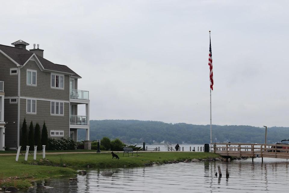 Condos located right off the lake