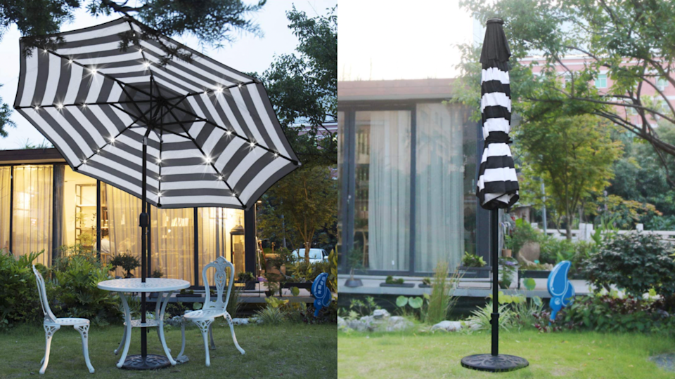 14,000 reviewers agree this umbrella is a high quality must-have for your patio space.