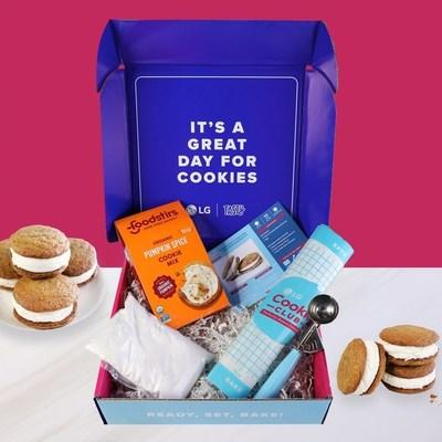 The exclusive co-branded cookie kits make baking easier than ever with Tasty-approved seasonal recipes designed to be baked to perfection in LG ovens and ranges featuring the brand's exclusive ProBake Convection® technology that delivers even baking results on every rack, every.