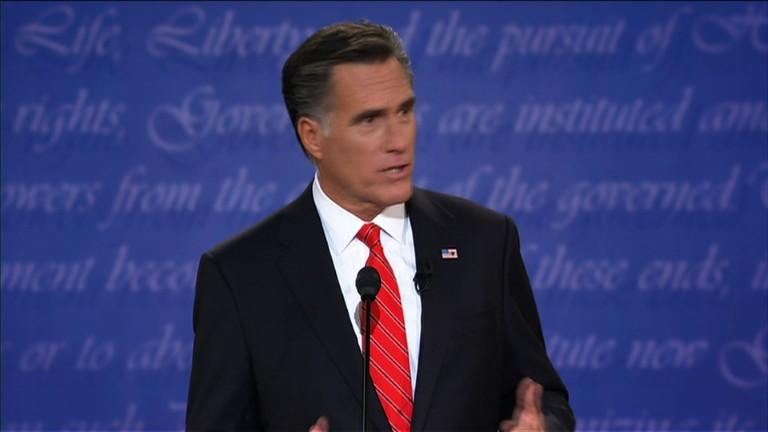 Gaffes and zingers, highlights of Romney's campaign