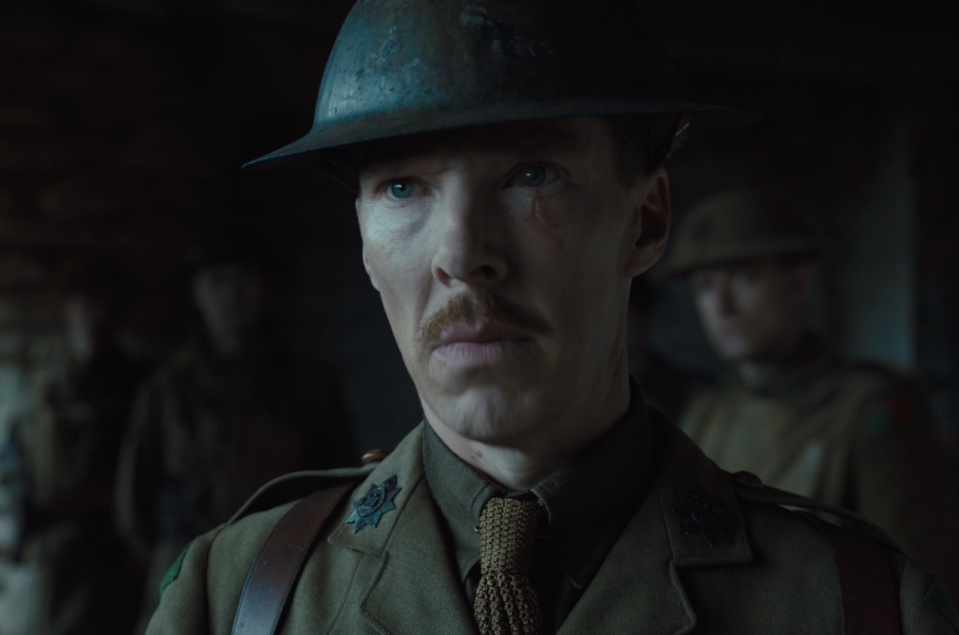 Benedict Cumberbatch returns to the milieu of the Great War once again following appearances in <i>War Horse</i> and <i>Parade's End</i>. (eOne)