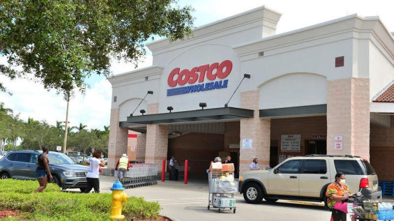 exterior of costco
