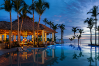 """<p>Jasmine has reportedly asked for fireworks during the big day, which will stunning set amongst this backdrop during the starry evening.<br>Source: <a rel=""""nofollow noopener"""" href=""""https://www.oneandonlyresorts.com/one-and-only-palmilla-los-cabos"""" target=""""_blank"""" data-ylk=""""slk:One&Only"""" class=""""link rapid-noclick-resp"""">One&Only</a> </p>"""