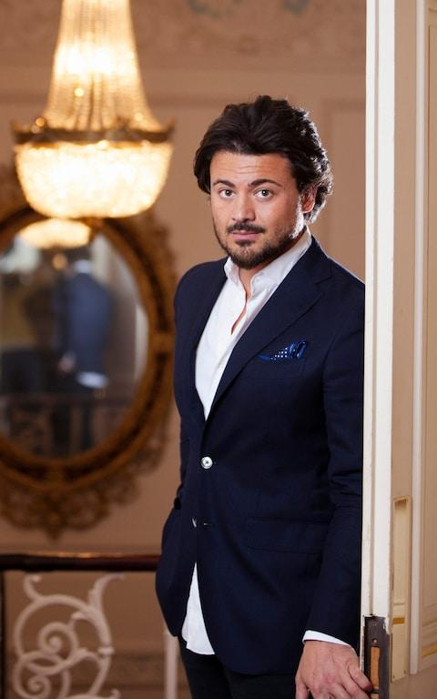 Italian tenor Vittorio Grigolo pictured at the Royal Opera House, London, in June 2016 - Credit: Rii Schroer