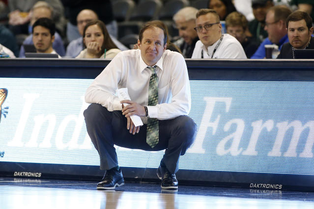 Chris Kielsmeier, the Cleveland State women's coach, announced he tested positive for the coronavirus on Saturday night. (Justin Casterline/Getty Images)
