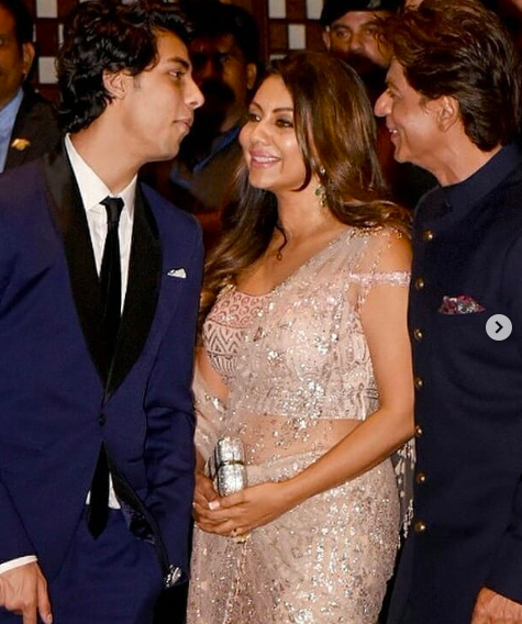 """<p>In a throwback interview, SRK spoke about his son's resemblance to him and Guari, """"His looks have come from both of us. Actually Gauri and I have similar features – both of us have big eyes and thick lips. I don't know… He's got expressions like mine, I think… But he's a mixture. And no, I haven't changed any diapers!"""" </p>"""