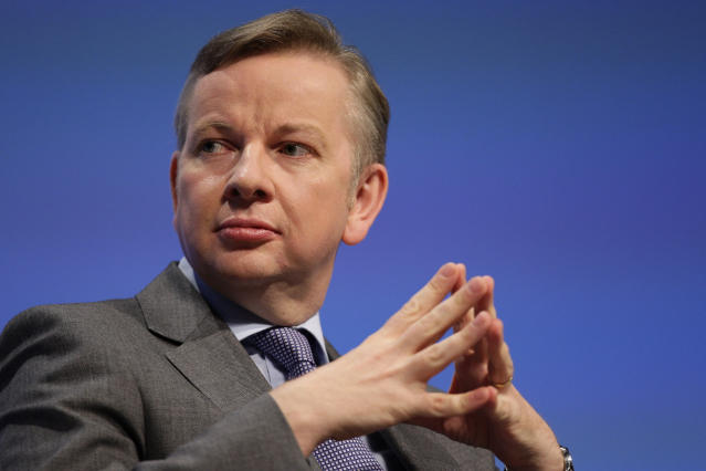Then Education Secretary Michael Gove made the sweeping reforms in 2011. (AP Photo/Jon Super).