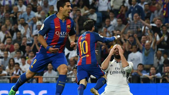 Real Madrid's captain was sent off on Sunday, and the full-back was left to rue that moment against Barcelona