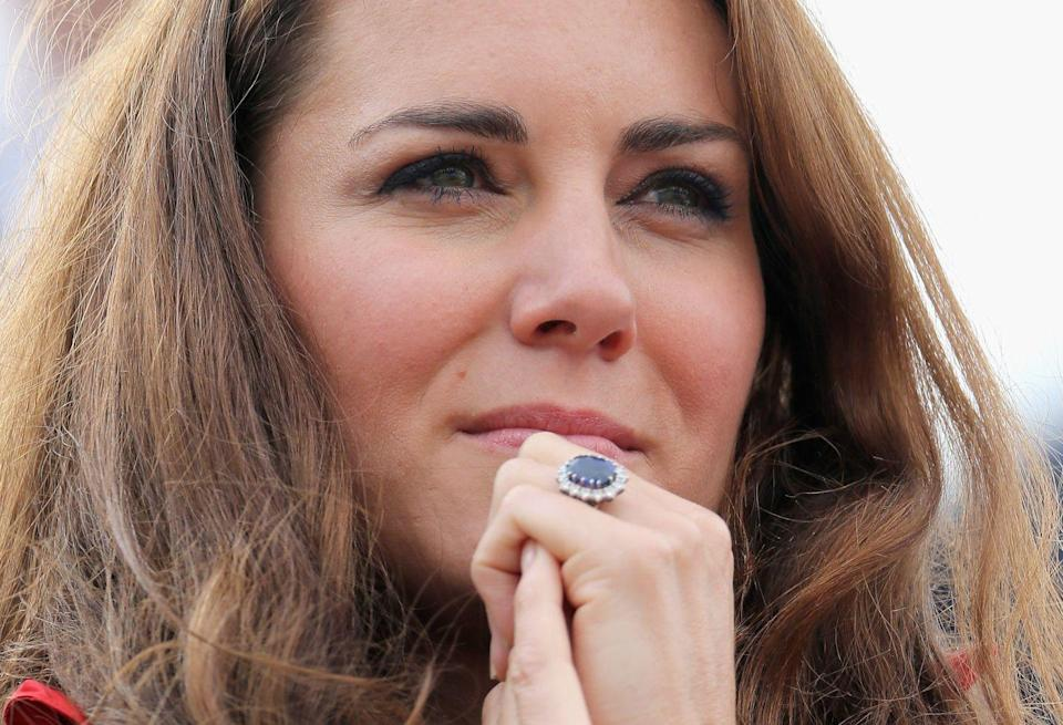 """<p>Sapphires were a royal treasure long before Prince Charles proposed to Diana with that iconic 12-carat ring from the House of Garrard (now worn by Kate). He was inspired by a sapphire brooch Queen Victoria received from Prince Albert in 1840, which has since been passed down to Queen Elizabeth. Follow suit and peruse the family jewels for inspiration—or rework an old piece into something modern. Jewelers like <a href=""""https://jadetrau.com/"""" rel=""""nofollow noopener"""" target=""""_blank"""" data-ylk=""""slk:Jade Trau"""" class=""""link rapid-noclick-resp"""">Jade Trau</a>, have elevated heirlooms into modern masterpieces for the next generation. <strong><br></strong></p><p><strong>More:</strong> <a href=""""https://www.townandcountrymag.com/style/jewelry-and-watches/g9946978/the-best-sapphire-engagement-rings/"""" rel=""""nofollow noopener"""" target=""""_blank"""" data-ylk=""""slk:The Best Sapphire Engagement Rings"""" class=""""link rapid-noclick-resp"""">The Best Sapphire Engagement Rings</a></p>"""