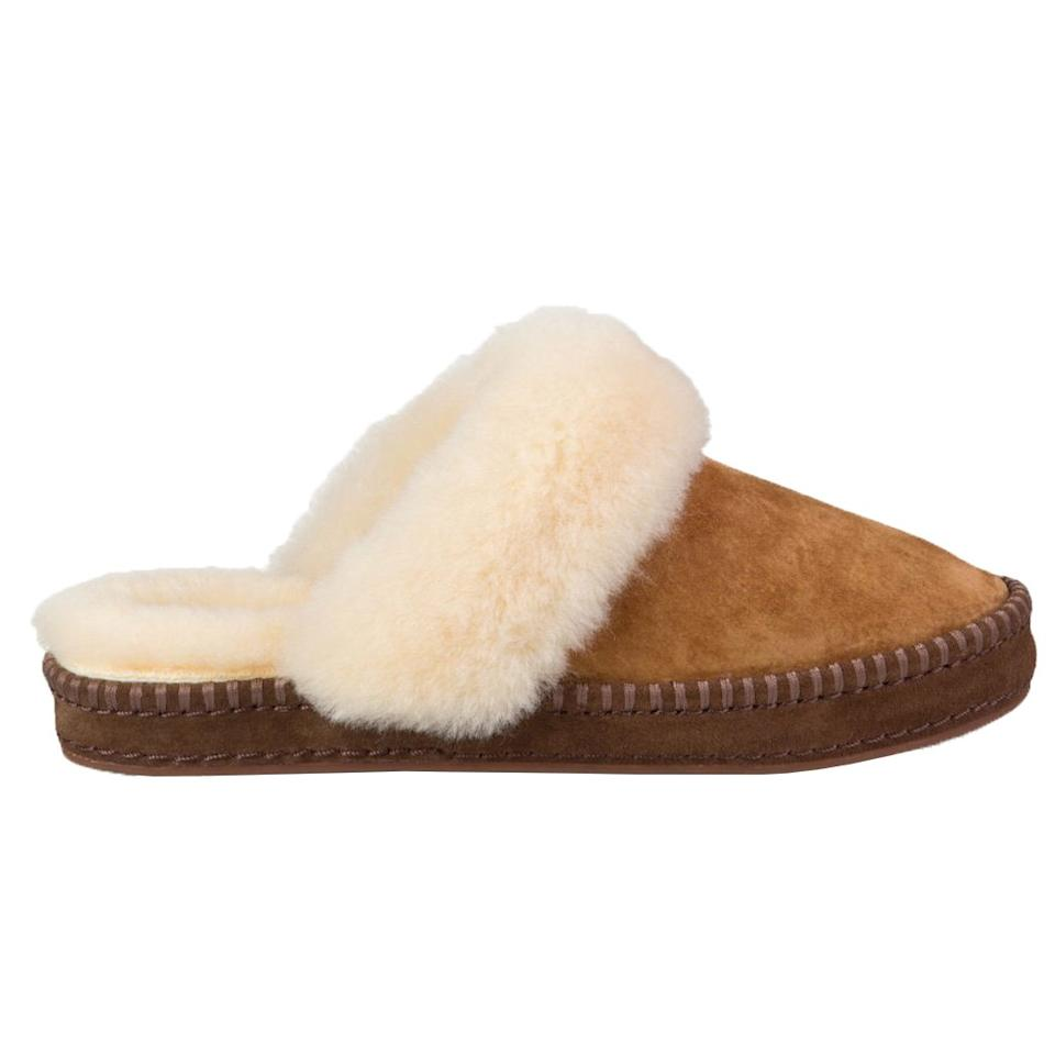<p>These Ugg slides are fully lined with natural wool and have a sturdy rubber sole, which ensures they'll really last.</p>