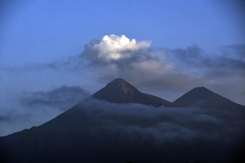 The eruption of Guatemala's deadly Fuego volcano saw 62 people evacuated