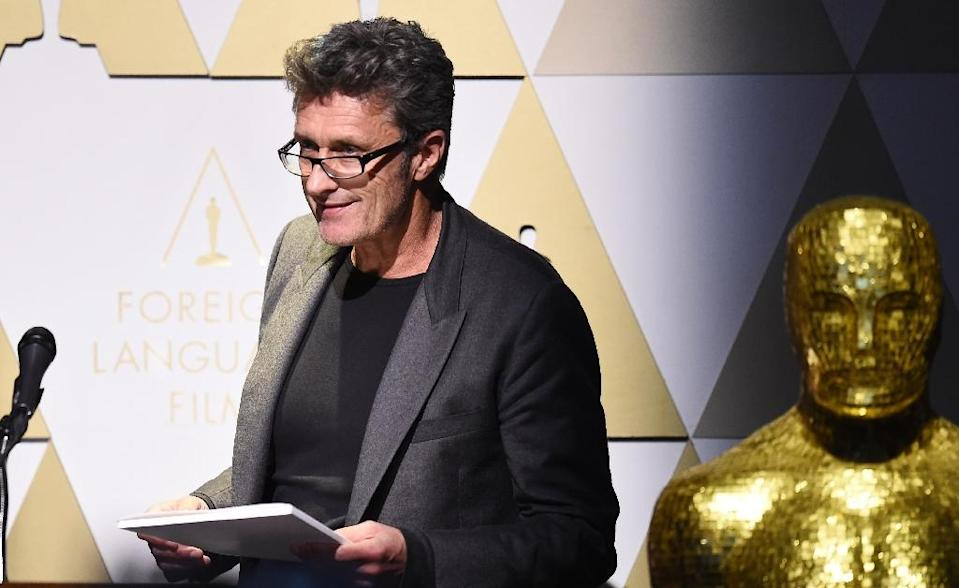 Pawel Pawlikowski, Polish director of the film 'Ida', pictured during the Oscars Foreign Language Film Award Reception in Los Angeles, California, on February 20, 2015 (AFP Photo/Robyn Beck)