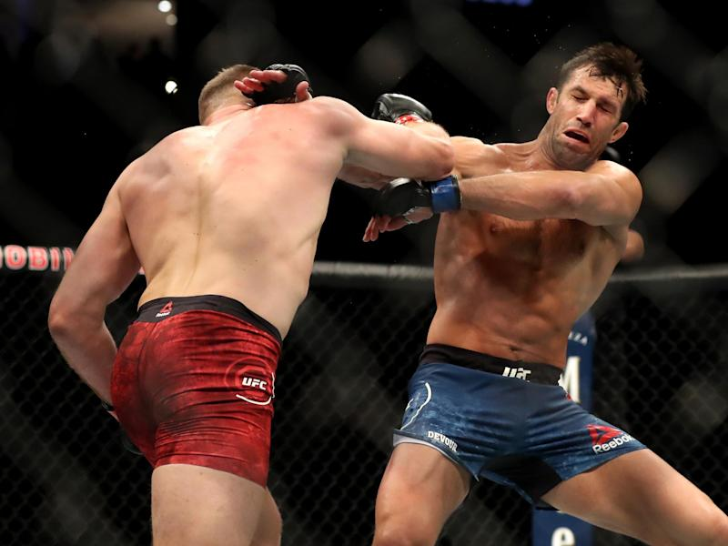 Blachowicz knocked out former middleweight champion Luke Rockhold last summerGetty Images