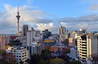 <p>The top placed city in the Southern Hemisphere, Auckland, on New Zealand's North Island, is home to two major harbours and has an impressively high quality of life. (Rex)</p>