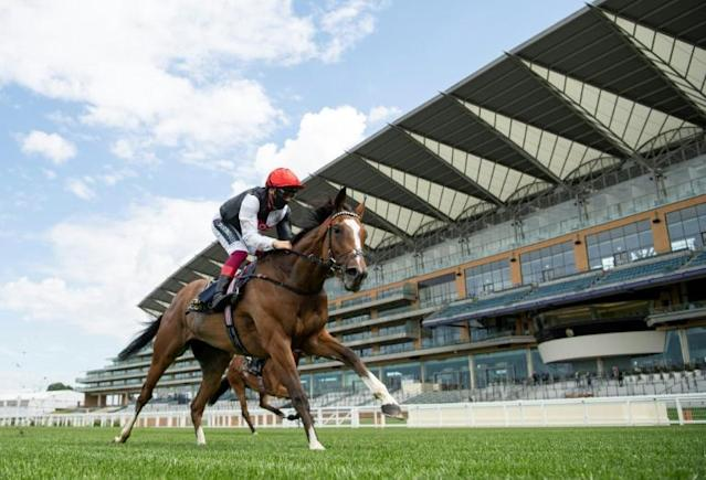 Frankie Dettori admitted he needed a couple of espressos to gee himself up (AFP Photo/Edward Whitaker)