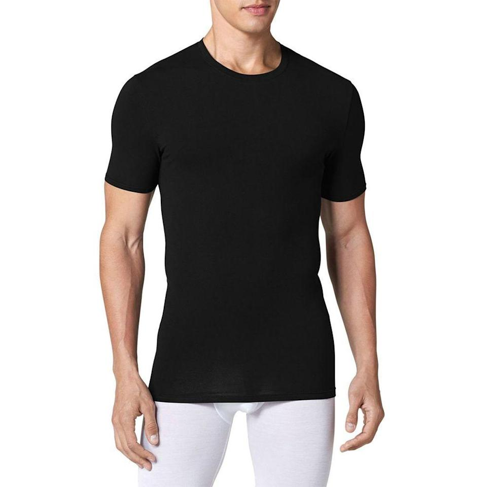 """<p><strong>TOMMY JOHN</strong></p><p>nordstrom.com</p><p><a href=""""https://go.redirectingat.com?id=74968X1596630&url=https%3A%2F%2Fshop.nordstrom.com%2Fs%2Ftommy-john-cool-cotton-crewneck-undershirt%2F3311135&sref=https%3A%2F%2Fwww.menshealth.com%2Fstyle%2Fg33510339%2Fnordstrom-anniversary-sale-2020%2F"""" rel=""""nofollow noopener"""" target=""""_blank"""" data-ylk=""""slk:BUY IT HERE"""" class=""""link rapid-noclick-resp"""">BUY IT HERE </a></p><p><strong><del>$40</del> $29.40 (38% off)</strong></p><p>Found: A sleek undershirt that'll stay dry with moisture-wicking technology. </p>"""