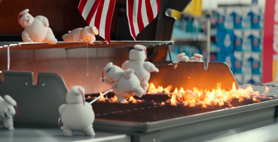 Ghostbusters: Afterlife will see the return of the Stay-Puft mascot. (Sony Pictures)