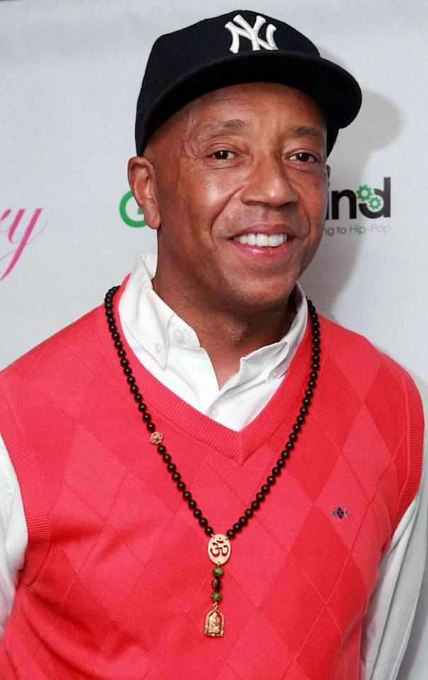 "Hip-hop mogul Russell Simmons turns 54. Astrid Stawiarz/<a href=""http://www.gettyimages.com/"" target=""new"">GettyImages.com</a> - September 27, 2011"
