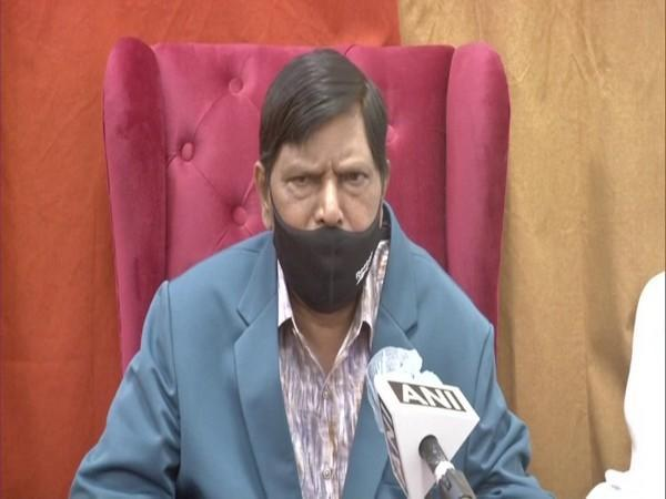 Republican Party of India chief and Union Minister Ramdas Athawale (Photo/ANI)