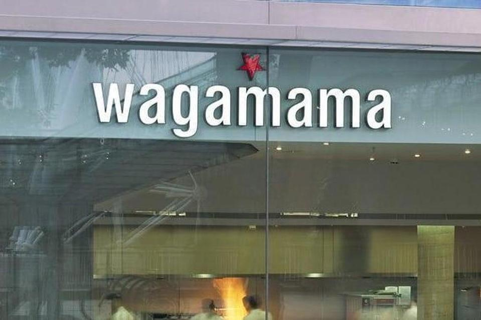 Wagamama: One of the chain's London restaurants (Rex/Shutterstock)