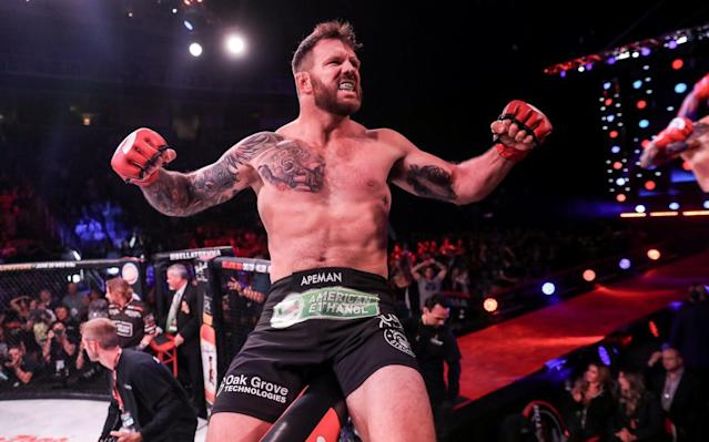 Ryan Bader jumped over to Bellator from the UFC two years ago and hasn't looked back since. (Lucas Noonan/Bellator)