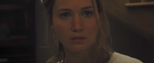Jennifer Lawrence in <em>Mother!</em>