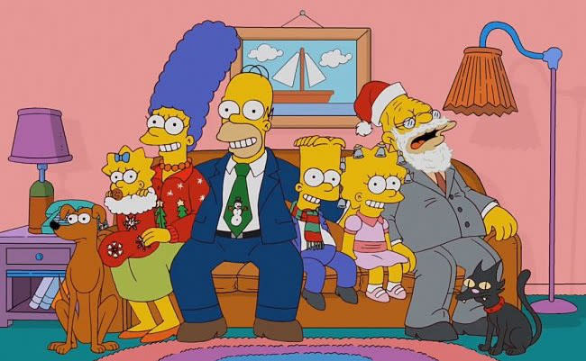 Christmas Simpsons.Let These Simpsons Christmas Moments Put You In The