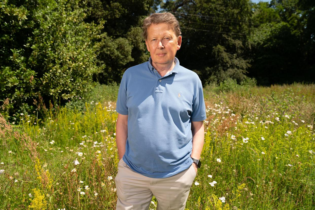 Bill Turnball has charted his life following his diagnosis in a new documentary. (Channel 4/Pete Dadds).