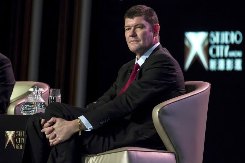 FILE PHOTO: Australian billionaire James Packer attends a news conference in Macau, China