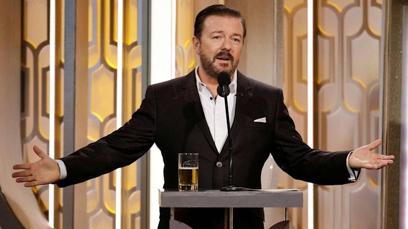 Looking Back on Ricky Gervais' Most Shocking Golden Globes Moments