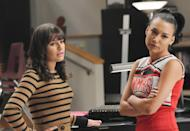 """<p>In 2014, there were rumours the Glee stars didn't get on. A source told Us Weekly: """"They're always icy to each other. """"Naya is jealous that Lea is the show's main star … There is a lot of sighing and eye-rolling between them."""" But Glee creator Ryan Murphy has previously played down the so-called rift. <i><i><i><i>[Copyright: REX Features]</i></i></i></i></p>"""