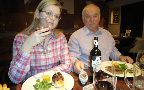 Sergei Skripal with his daughter Yulia. - Credit: East 2 West