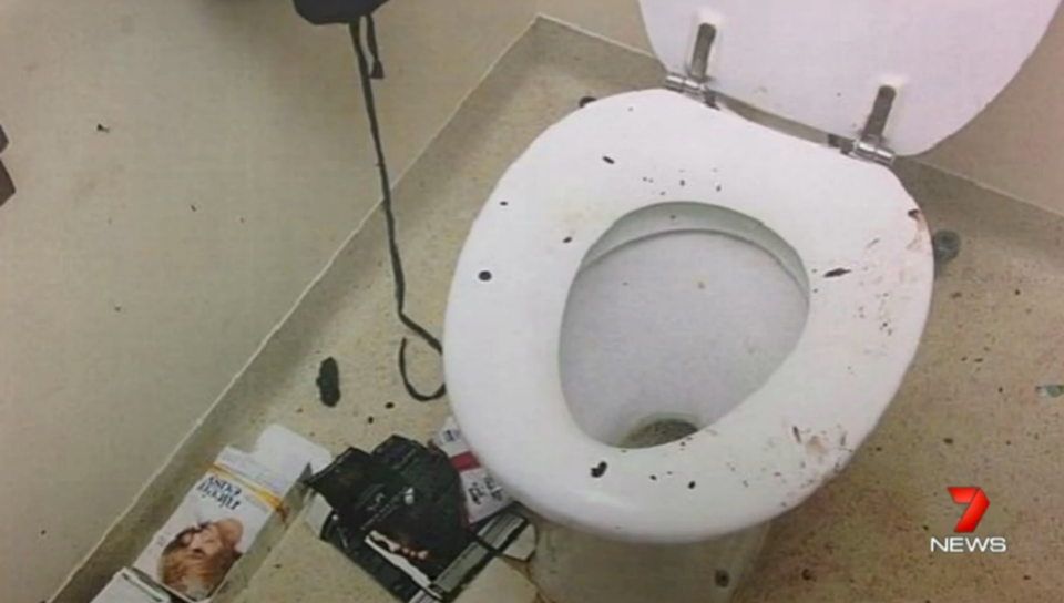 The rest of the house was just as bad. Beds were wet with urine and faeces. Photo: 7 News