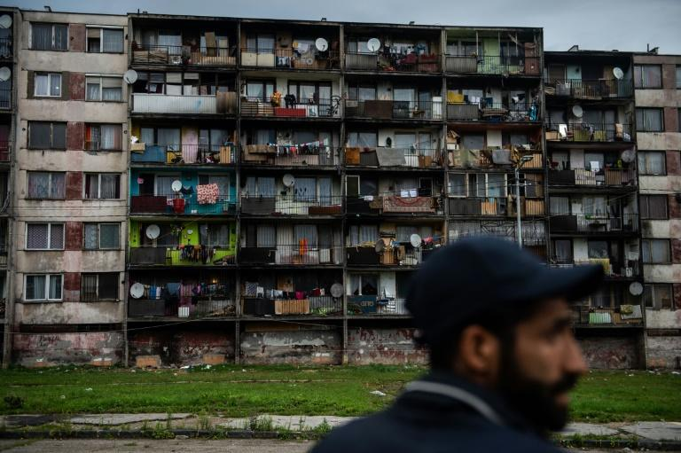 Poverty and overcrowding are chronic issues at the Lunik IX estate, where 4,500 residents are squeezed into a space meant to accommodate half that number (AFP/VLADIMIR SIMICEK)