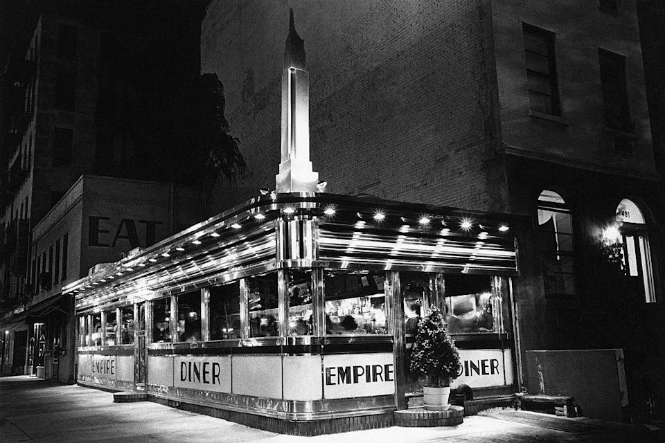 <p>The Empire Diner has been a New York favorite since it opened in 1976. It was once known for being frequented by celebrities. <br></p>