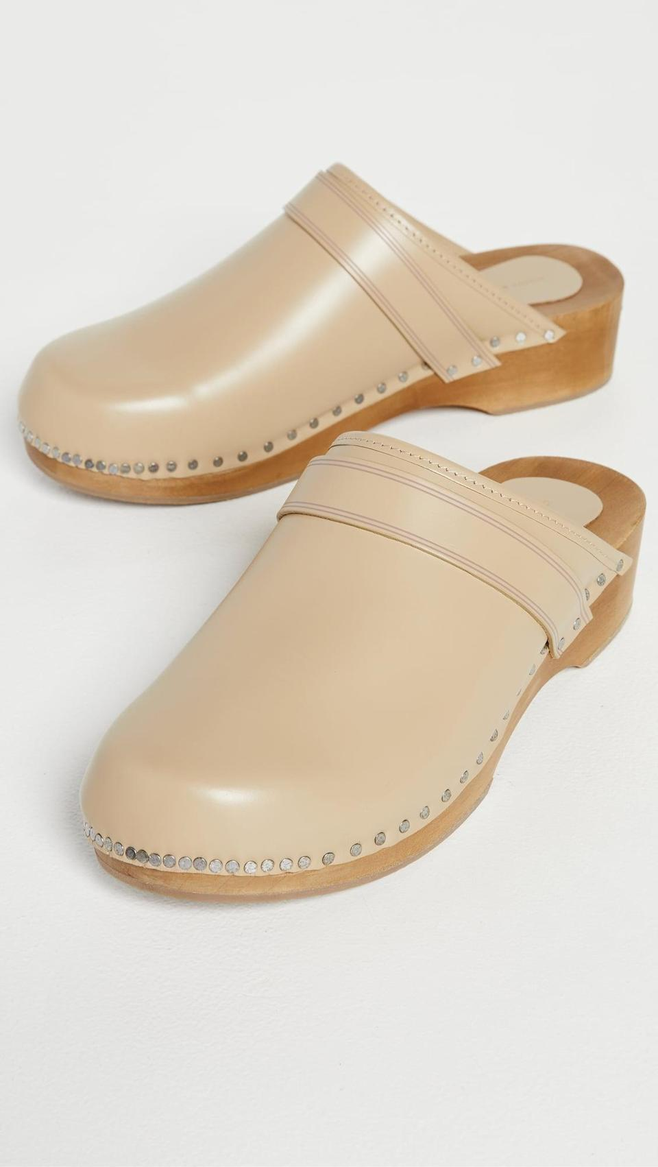 <p>We can't help but love these <span>Isabel Marant Thalie Clogs</span> ($430). The stud detailing is too cute.</p>