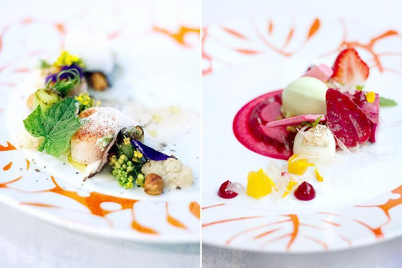 The exquisite dishes at Savelberg, a one-Michelin-starred restaurant in Bangkok.