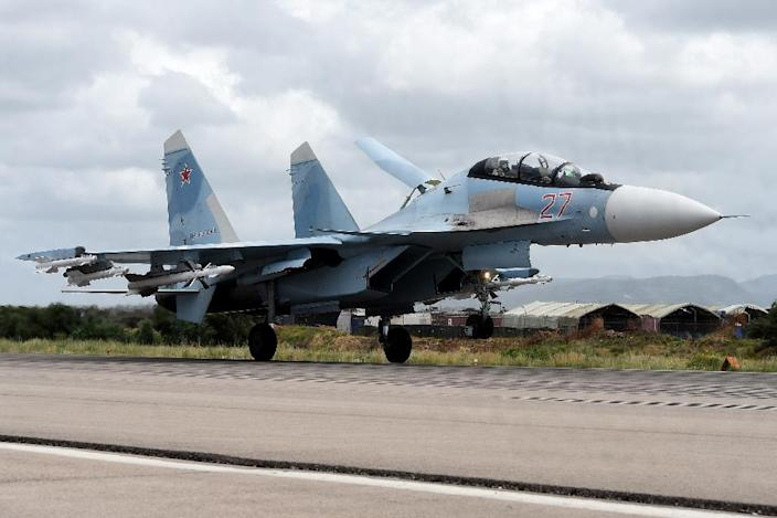 Russia first launched air strikes in support of the Syrian regime in September 2015 (AFP Photo/Vasily Maximov)