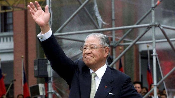 Lee won Taiwan's first presidential vote by a landslide