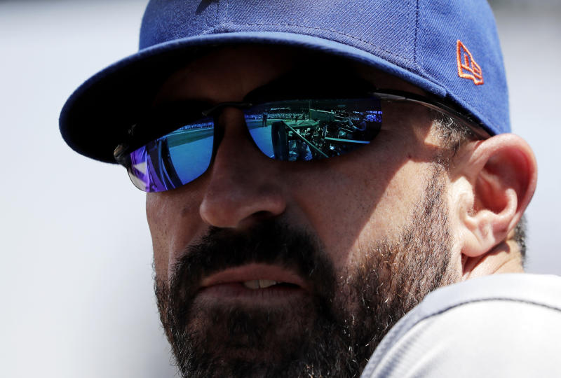 New York Mets manager Mickey Callaway.