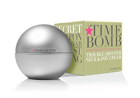 "<p>You might not think that the rest of your body needs a routine but the neck and decolletage are common areas to suffer from ageing and can stand out against a youthful face. Try Time Bomb Trouble Shooter cream, designed for neck, jaw and chest – i.e. all the areas you forget about. <a rel=""nofollow"" href=""http://tidd.ly/643545b"">Buy here</a> </p>"