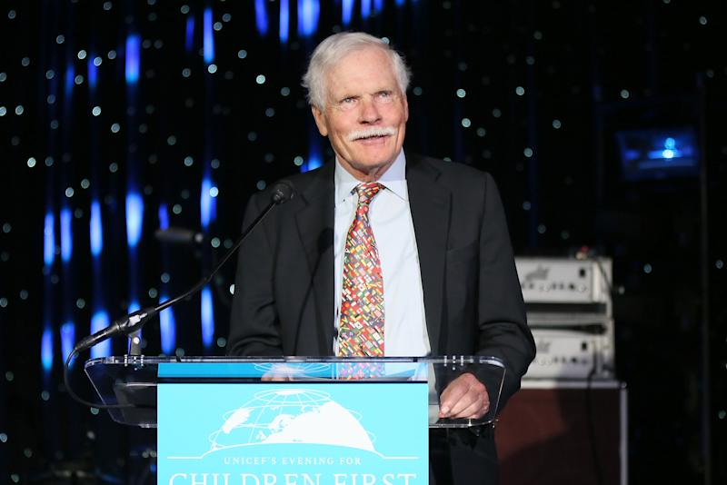 Ted Turner speaks at UNICEF's Evening for Children First to Honor Ted Turner on March 30, 2016 in Atlanta, Georgia. | Ben Rose—Getty Images for UNICEF.