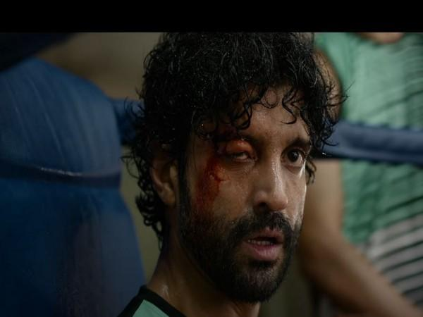 A still from the teaser featuring Farhan Akhtar (Image courtesy:YouTube)